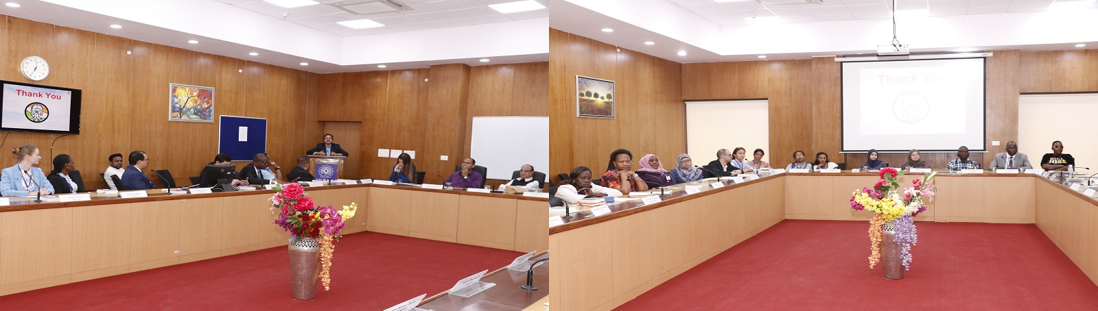 International Training Programme on 'Enhancing Leadership Skills' as part of ITEC of the Ministry of External Affairs  is being organized by VVGNLI from October 07-25, 2019. The programme was inaugurated on 7th October 2019. The programme is being attende