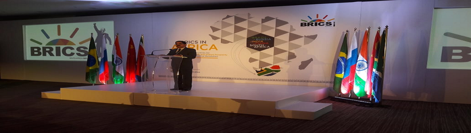 Dr. H Srinivas, Director General, VVGNLI at the BRICS Summit, Durban, South Africa (30th July, 2018 – 3rd August, 2018)