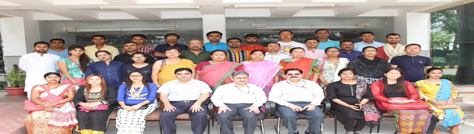 VVGNLI organised a Training Programme on 'SOCIAL PROTECTION AND LIVELIHOOD SECURITY FOR NORTH-EASTERN STATES' on May 07th - 11th, 2018. Thirty two participants from the North-Eastern states participated. Shri Rajit Punhani IAS, Director General, DGLW, Min