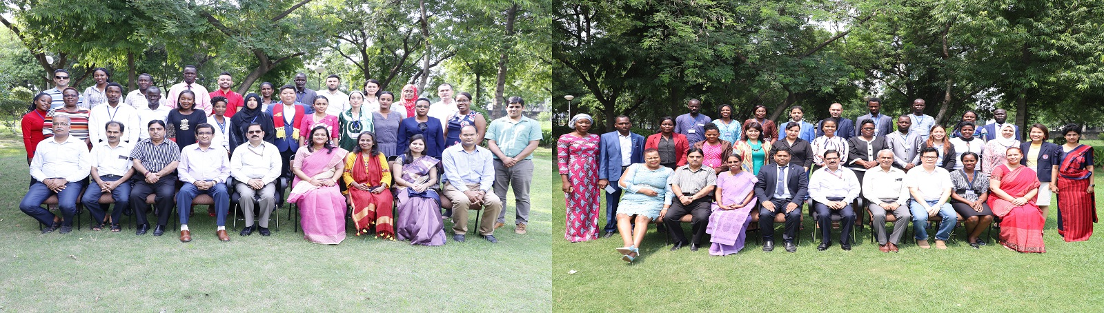 Two International Training Programmes on 'International Standards and Promotion of Gender Equality at the Workplace' from August 05-23, 2019 and 'Skill Development and Employment Generation' from September 02-20, 2019 conducted by the V.V. Giri National L