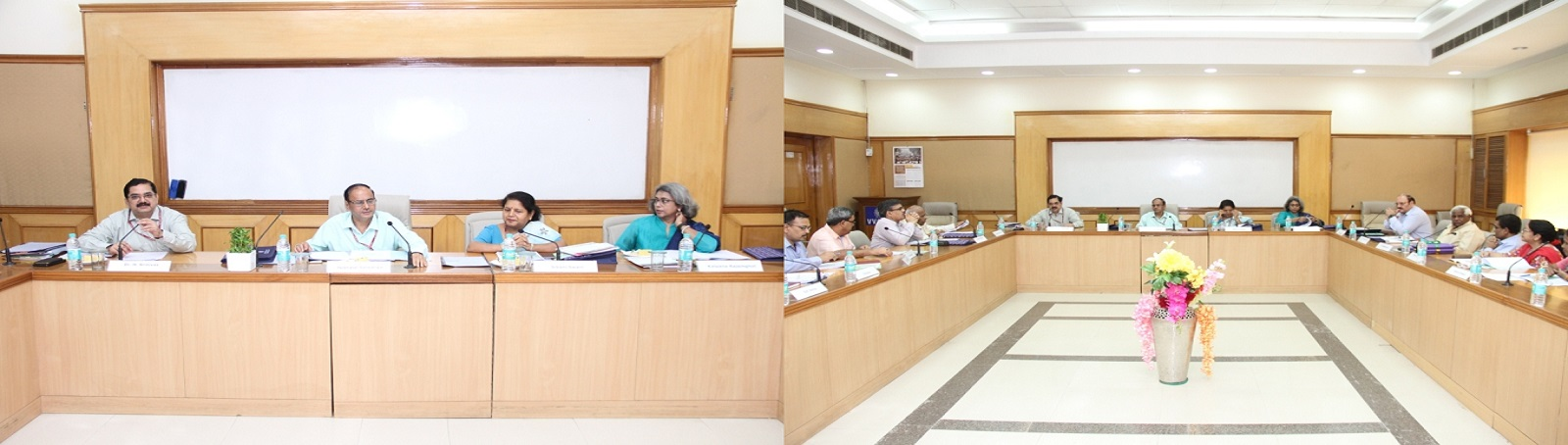 A Meeting of the Executive Council of the V.V. Giri National Labour Institute was held under the Chairpersonship of Shri Heeralal Samariya, Secretary, Ministry of Labour & Employment (MOLE), and Chairperson, Executive Council, VVGNLI at the VVGNLI, Noida