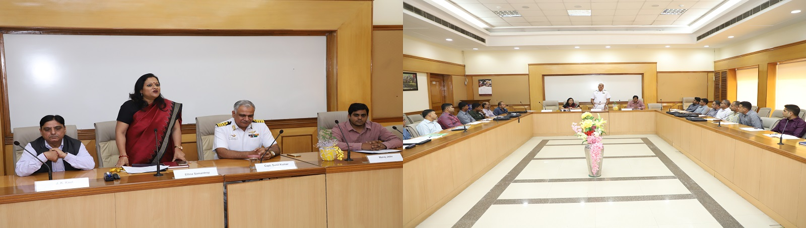 "VVGNLI is organizing a training programme on ""Labour Laws and Trade Unionism"" for officers of the Indian Navy during 11-16 November 2019 at its campus. The programme was inaugurated by Cap. Sunil Kumar, Capt (CP) – Training, Directorate of Civilian Person"