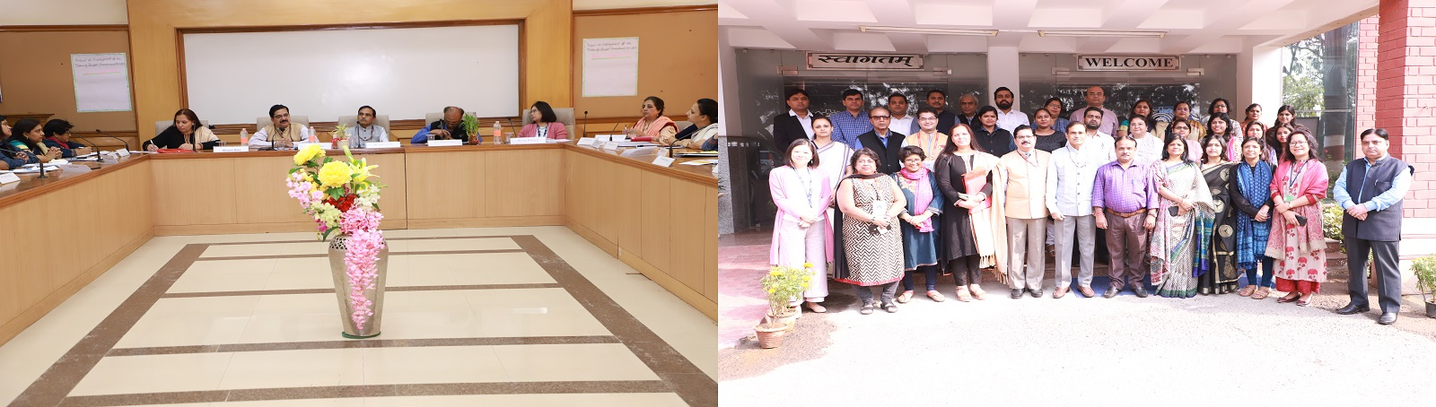 "VVGNLI organised a workshop on ""Impact on Employment of the Maternity Benefit Amendment Act, 2017: Identifying the Affirmative Initiative & Challenges in the Implementation of the Act"" on 22nd November, 2019. Dr. H. Srinivas, Director General, VVGNLI addr"