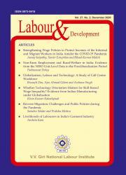Labour & Development-December 2020